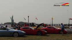 Driven by Purpose, Ferraris, Statue