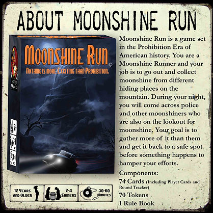 Moonshine Run information.