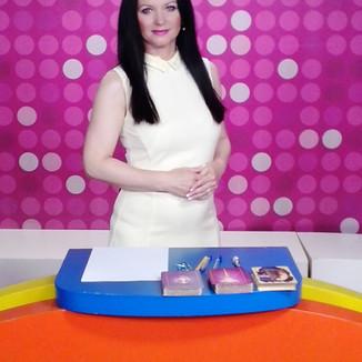 Jarmila Hamplová - před začátkem vysílání