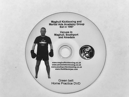 Home practice Orange belt DVD- make the most of your spare time