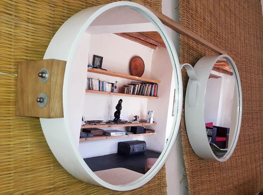 Lunette miroir design JB Liotard