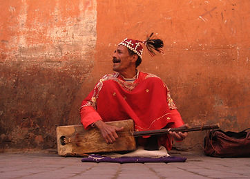 Gnaoua musicien de rue
