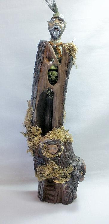 Elven Traveler & Companion Wand & Wand Stand