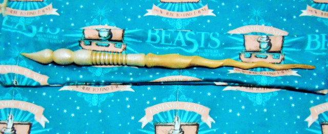 Thunderbird Beast Core Wooden Magic Wand