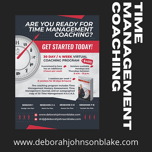 30-Day Time Management Coaching