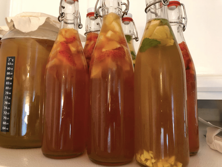 The Perfect Kombucha Ratios for Any Size Brew