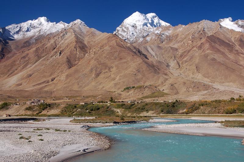 The lovely view of Zanskar Valley.