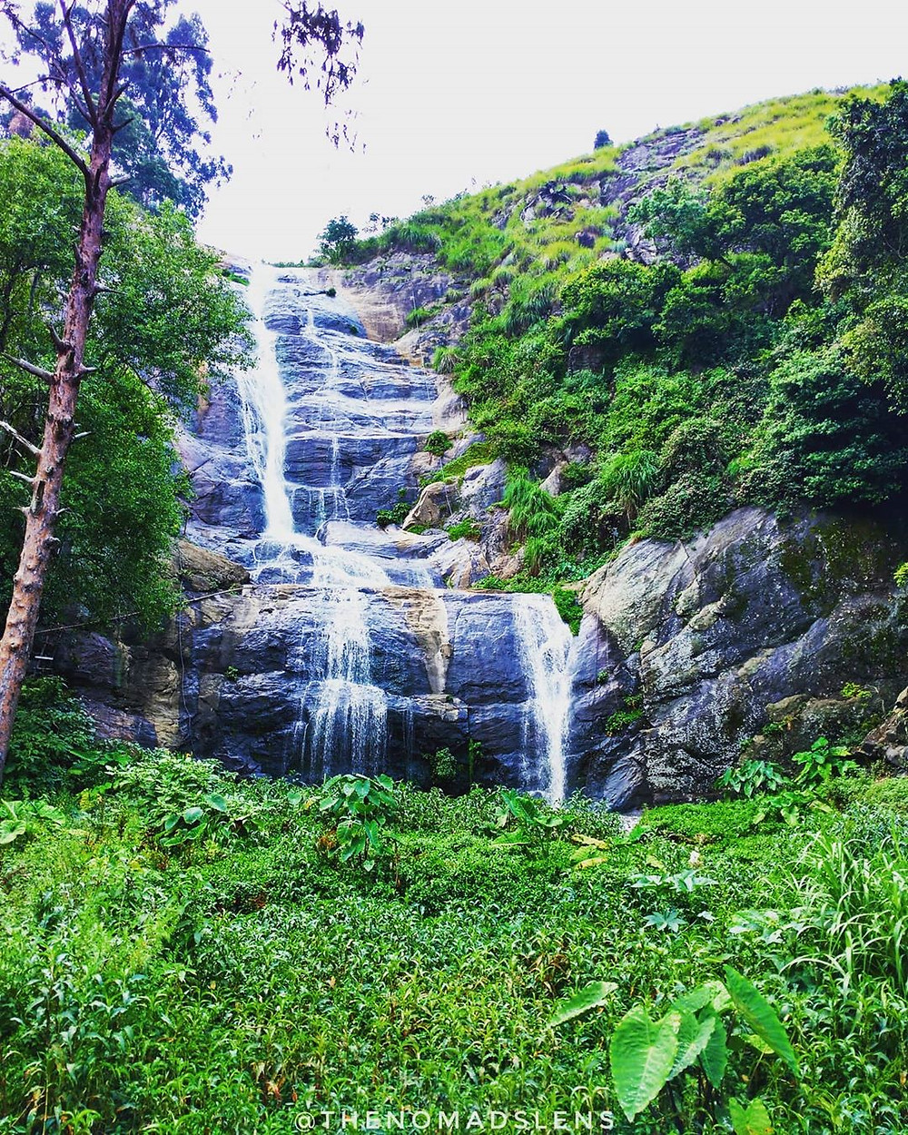 Lovely waterfall at Kodaikanal.