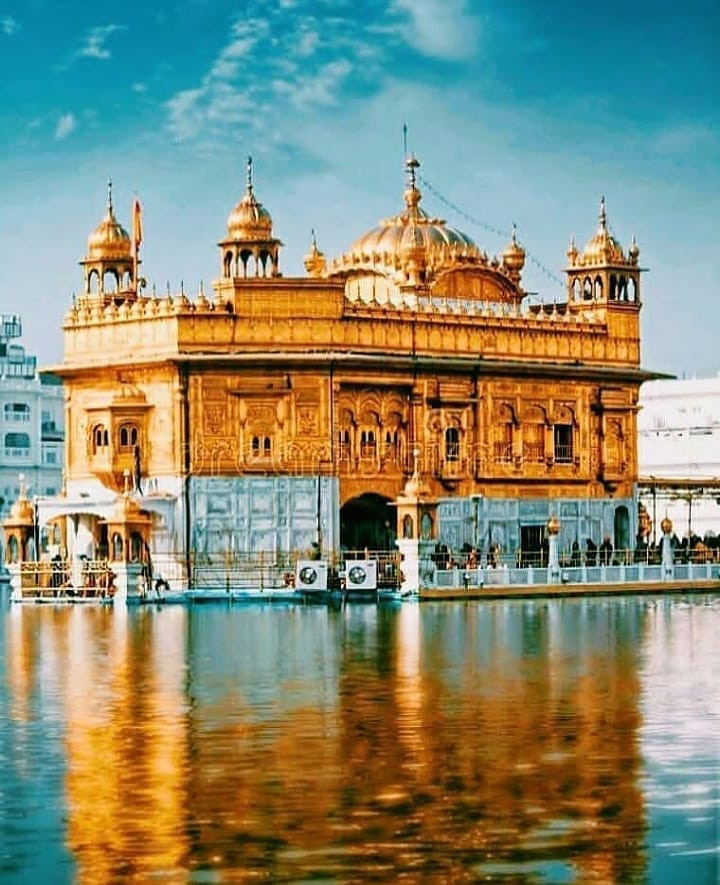 The marvelous Golden Temple.