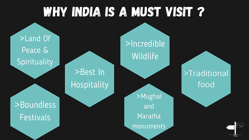 Incredible India | Why should you visit India ?