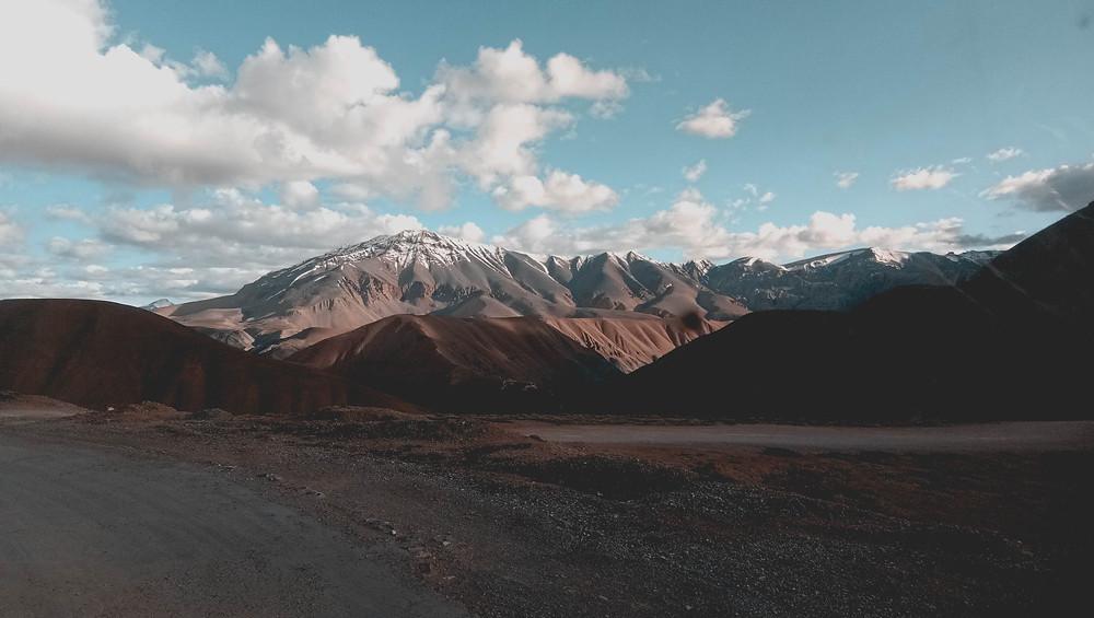 Lovely view of Leh.