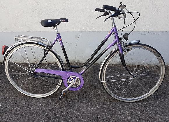 Damenvelo CRESTA, lila-schwarz