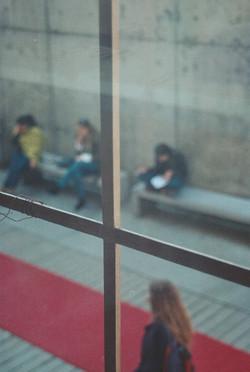 frame of strangers
