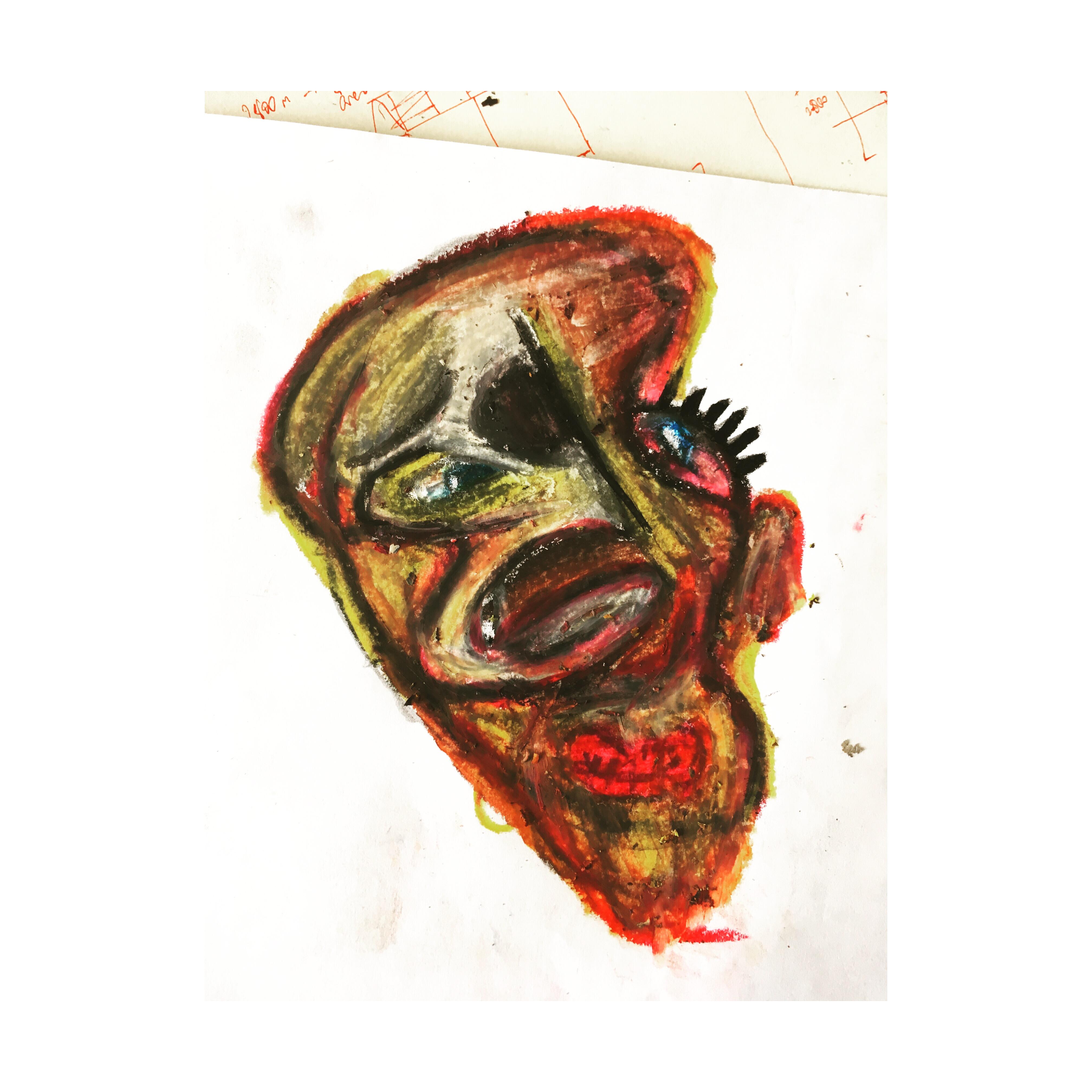 Bacon Face Study II