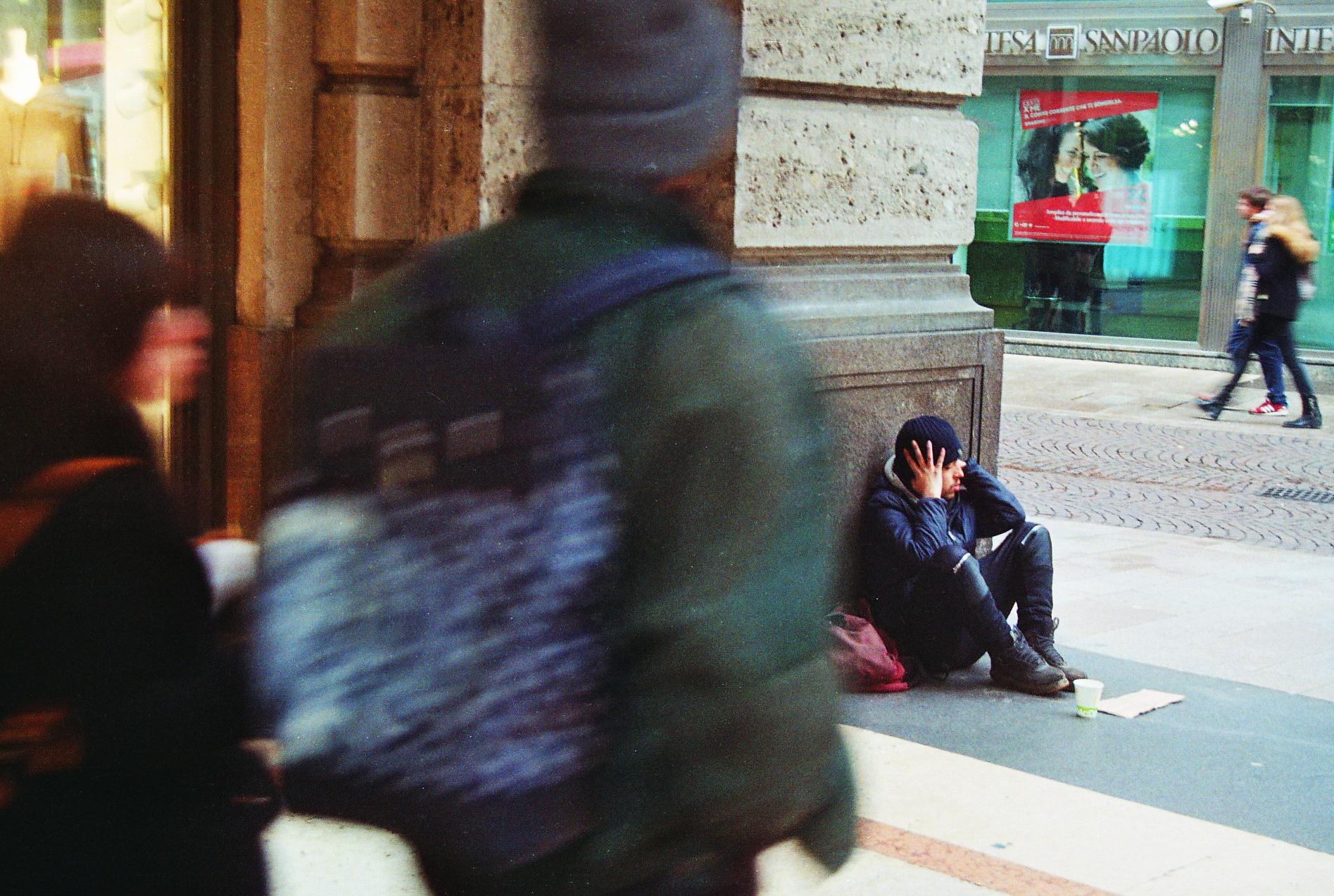 wormhole of homeless buddy