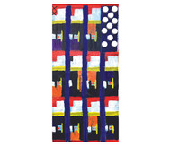 Sparkling Mondrian Flag