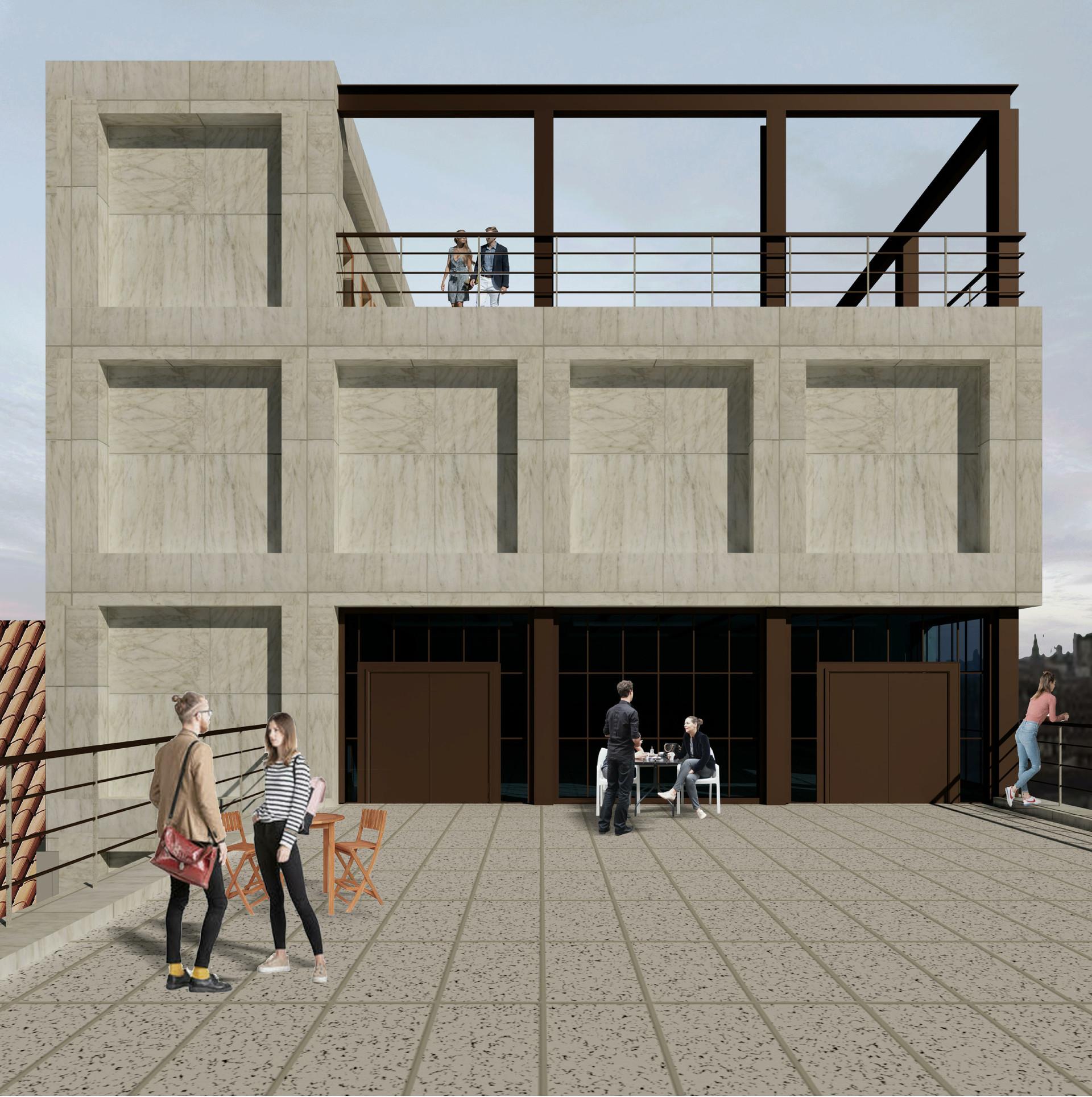 Roof Terrace -level 5