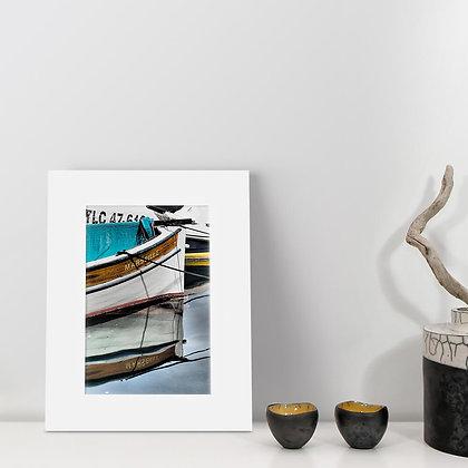 """Reflet Marseillais"" - Numbered photograph - Vieux Port Marseille"
