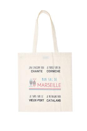 Tote bag de Marseille