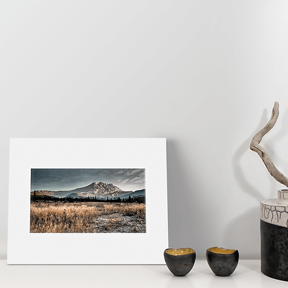 """Gelée matinale III"" - Photographie  - Montagne Sainte Victoire"