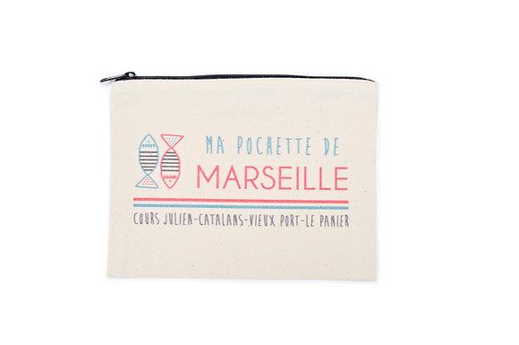 My Marseille pouch