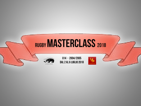 Rugby Masterclass 2018
