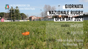 GIORNATA NAZIONALE RUGBY OPEN DAY 2021
