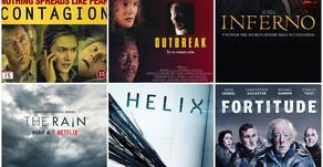 3 Film og 3 TV-serier om virus