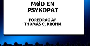 Book et uhyggeligt foredrag om psykopater