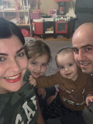Alex s rodinou