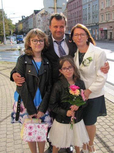 Martina s rodinou