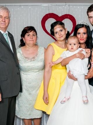 Marcela s rodinou