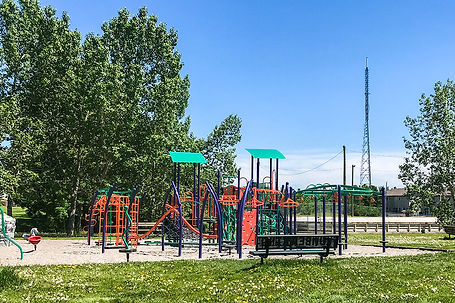Playground in Patterson Heights