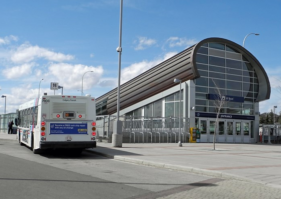 Calgary Transit 69 street station