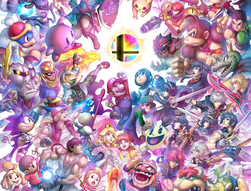 LARGE Smash Poster