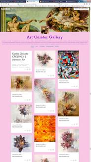 Galería de curadores de arte