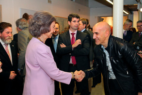 "Rückzug - Casa de Vacas - Ihre Majestät die ""Reina Sofía"""