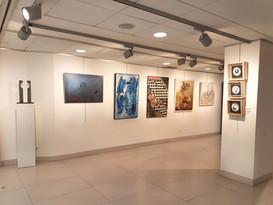 """Gemeinschaftsausstellung. """"XXIX Internationale und multidisziplinäre Ausstellung zeitgenössischer Kunst"""". """"Claret"""" Foundation Barcelona. Spanien"""