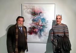 Retiro - Casa de Vacas - Herr José Gabriel Estudillo - Präsident des spanischen Verbandes der Maler und Bildhauer