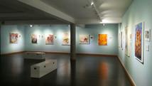 Einzelausstellung. Museum der Stadt Móstoles. Móstoles. Madrids Gemeinde. Spanien
