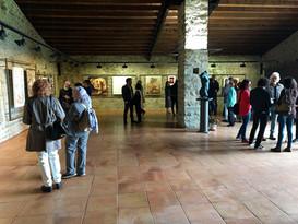 """Gemeinschaftsausstellung. """"XVIII Internationale und multidisziplinäre Ausstellung zeitgenössischer Kunst"""". Montesquiu Schloss. Provinzrat von Barcelona. Spanien"""