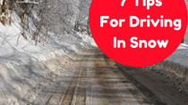 7 Tips For Driving In Snow