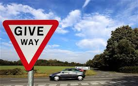 GIVE WAY PIC