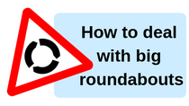 How to deal with big roundabouts