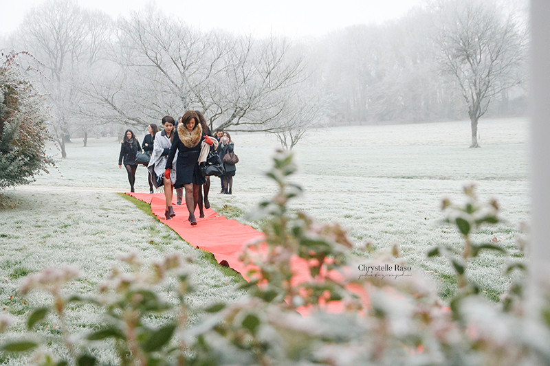 mariage tapis rouge