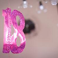 18 ans décoration anniversaire