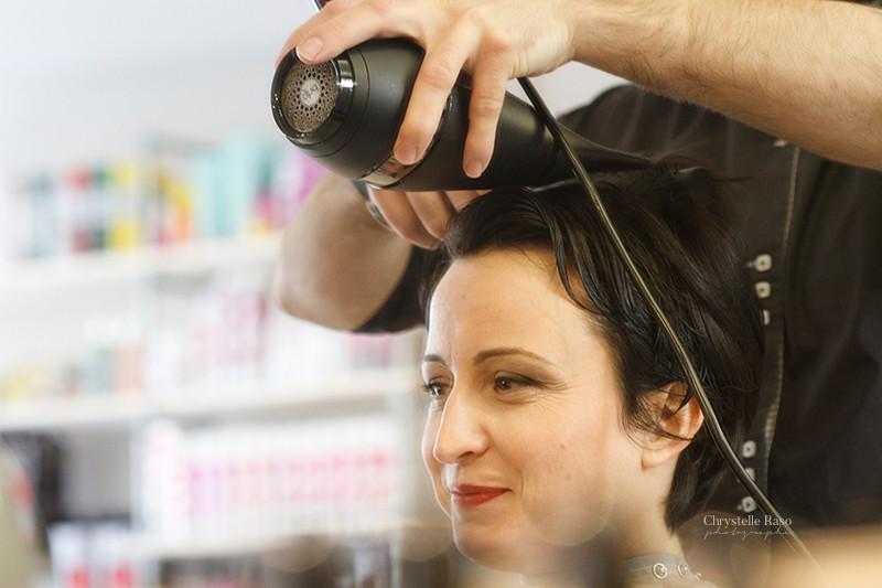 coiffeur préparatifs mariage