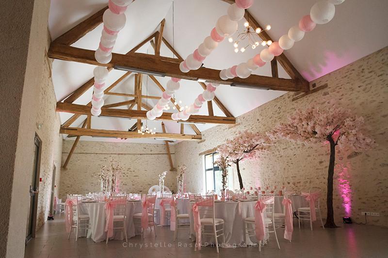 Salle de mariage Fontenay trésigny clos du Colombier