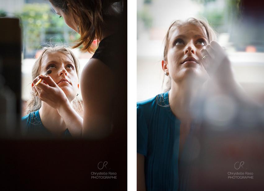 mariage maquillage préparatifs