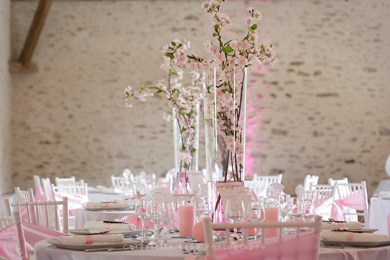Décoration Salle de mariage Fontenay trésigny clos du Colombier